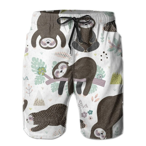 Sleeping Sloth Boardshort