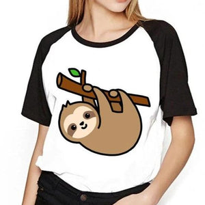 Holding On Sloth T-Shirt