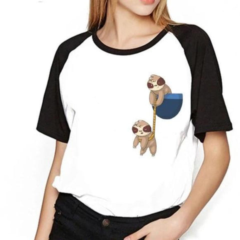 Helping Hand Sloth T-Shirt