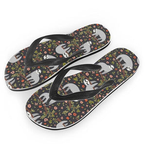 Flowery Sloth Sandals