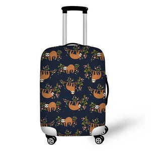 Indolent Group of Sloth Luggage and Suitcase Cover