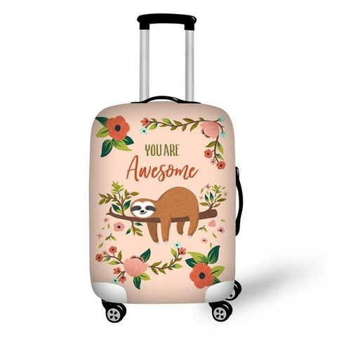 You Are Awesome Sloth Luggage and Suitcase Cover