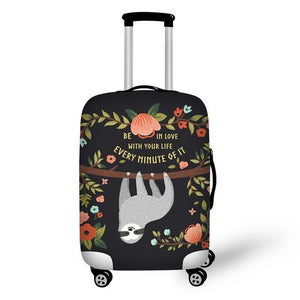 Be In Love Sloth Luggage and Suitcase Cover