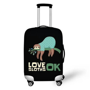 Lazy Love Sloth Luggage and Suitcase Cover