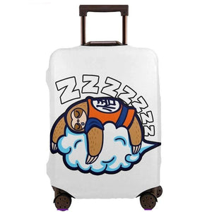 Cloud Sleeping Sloth Luggage and Suitcase Cover