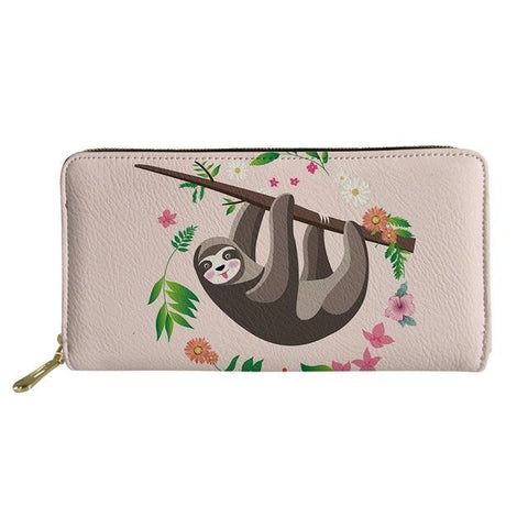 Lovable Sloth Purse / Wallet
