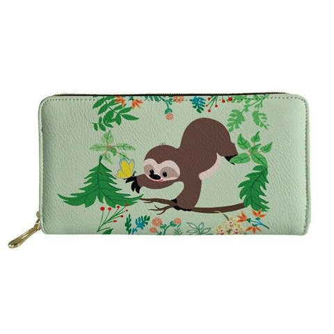 Charming Sloth Purse / Wallet
