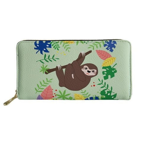 Charming Lazy Sloth Purse / Wallet
