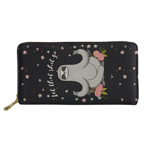Yoga Sloth Purse / Wallet