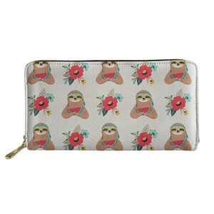 Watermelon Eating Sloth Purse / Wallet