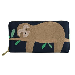 Napping Sloth Purse / Wallet