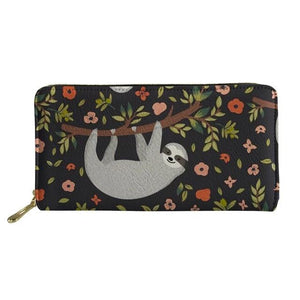 Soothing Sloth Purse / Wallet