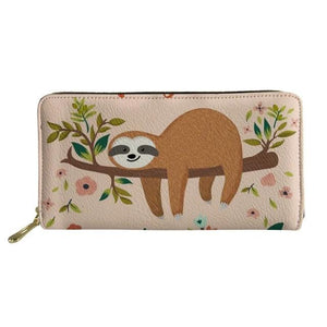 Resting Sloth Purse / Wallet