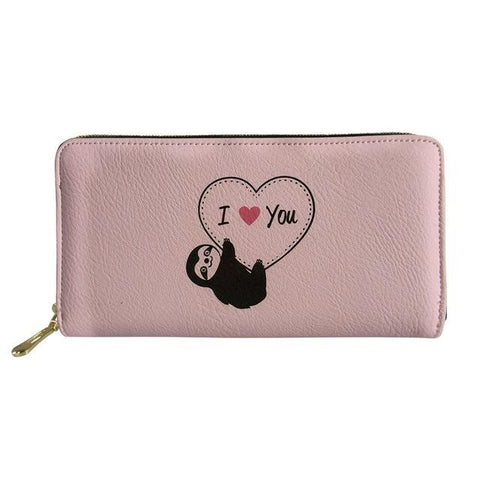 I Love You Sloth Purse / Wallet
