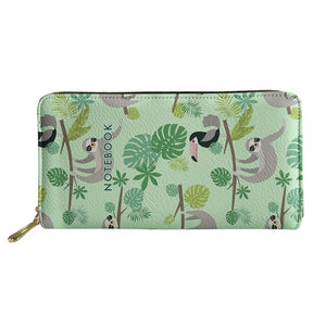 Bird And Sloth Purse / Wallet