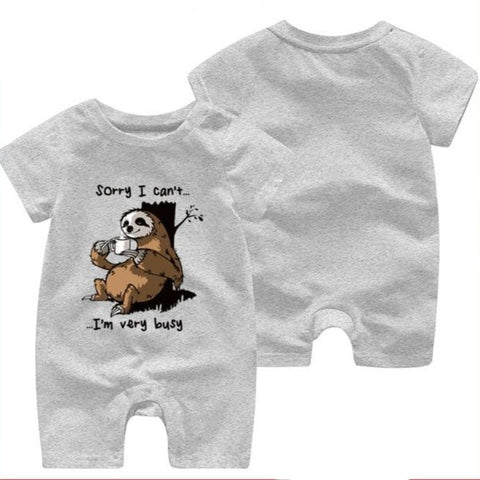Image of Sorry Sloth Jumpsuit