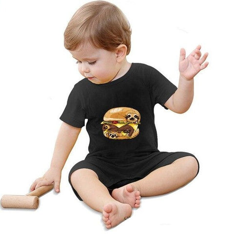 Image of Burger Sloth Jumpsuit