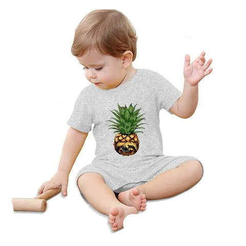 Image of Pineapple Sloth Jumpsuit