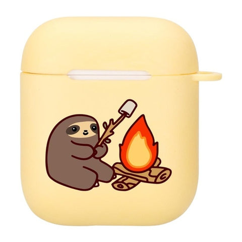 Bonfire Sloth Airpods Case
