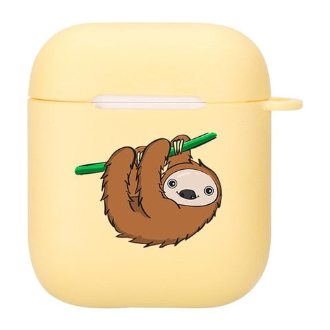 Hairy Hanging Sloth Airpods Case