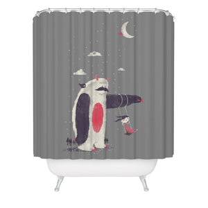 Playground Sloth Shower Curtain