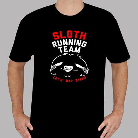 Image of Running Team Sloth T-shirt