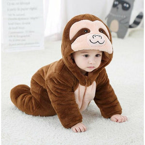 Cute Baby Sloth Overall