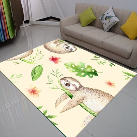 Napping Sloth Carpet