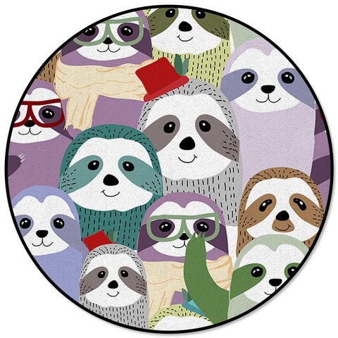 Sloth Families Carpets