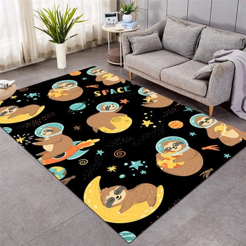 Space Sloth Carpet