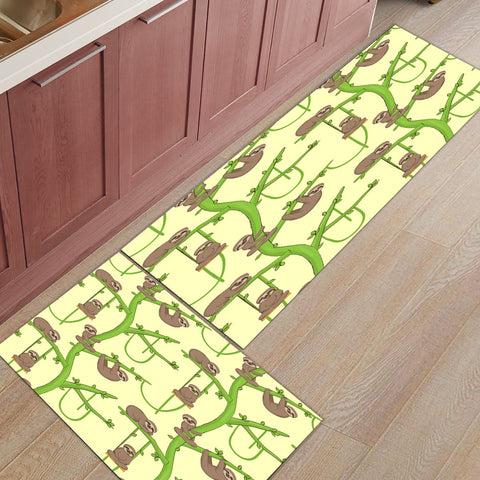 Sloth and The Beanstalk Door Mat Set