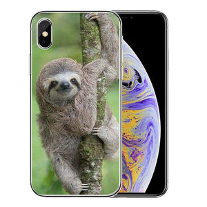 Branch Grabbing Sloth iPhone Case