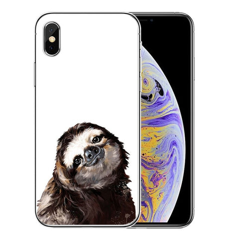 Model Sloth iPhone Case