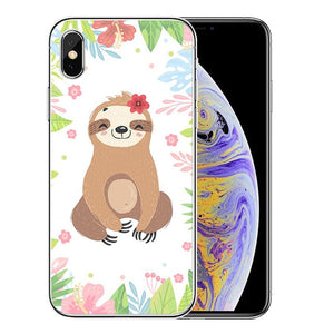 Adorable Sloth iPhone Case