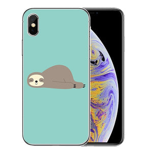 Planking Sloth iPhone Case