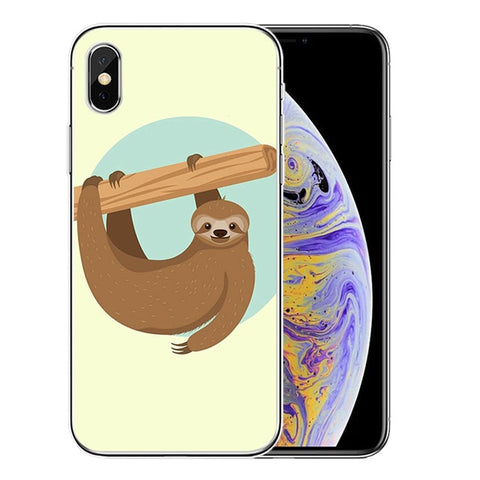 One Hand Sloth iPhone Case