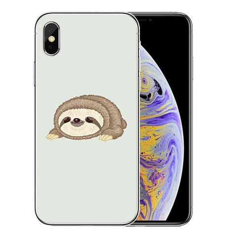Ducking Sloth iPhone Case