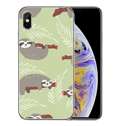 Hanging On Sloth iPhone Case