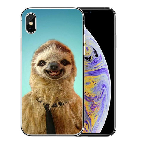 Big Mouth Sloth iPhone Case