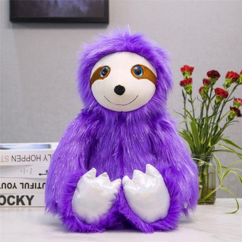 Smiling Sloth Plush Toy