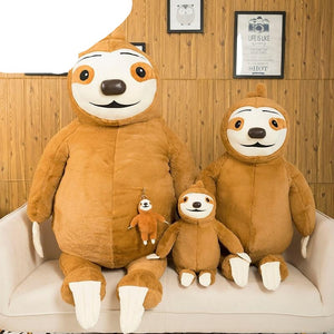 Complete Family Sloth Toy