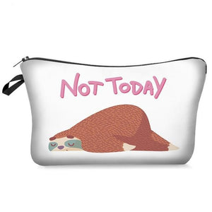 Not Today Makeup Bag