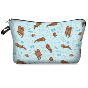 Beaching Sloth Makeup Bag
