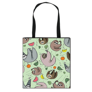 Fruity Sloth Tote Bag