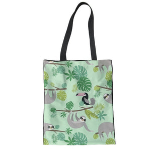 Wilderness Sloth Tote Bag