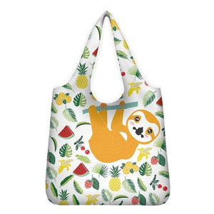 Crying Face Sloth Tote Bag