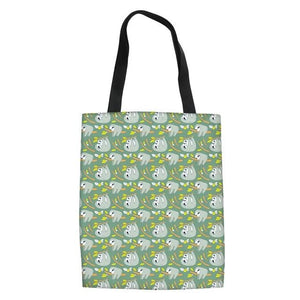 Loving Family Sloth Tote Bag