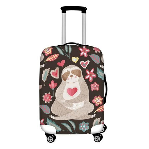 Love Sloth Luggage and Suitcase Cover