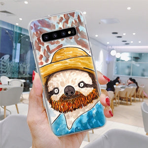 Cowboy Sloth Samsung Galaxy Case