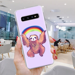 Rainbow Sloth Samsung Galaxy Case